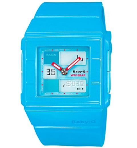 Квадратные часы Casio Baby-G BGA-200-2E