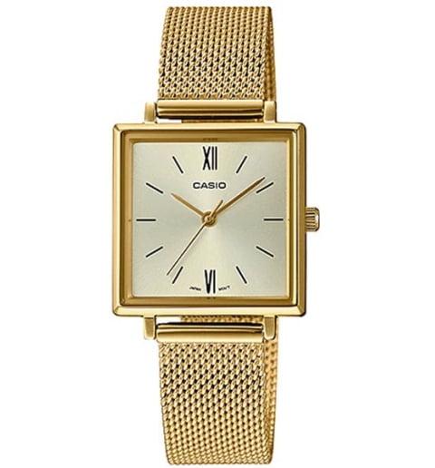 Квадратные часы Casio Collection LTP-E155MG-9B