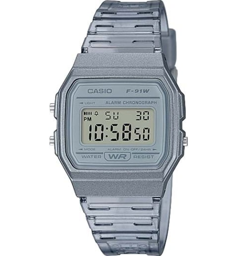 Casio Collection  F-91WS-8E с секундомером