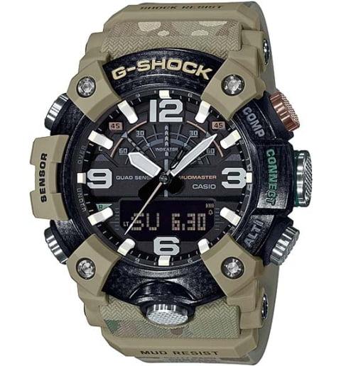 Часы Casio G-Shock  GG-B100BA-1A с шагомером
