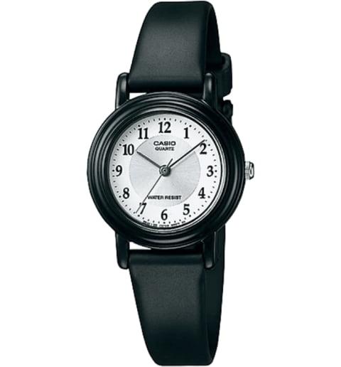 Часы Casio Collection LQ-139AMW-7B3 с каучуковым браслетом