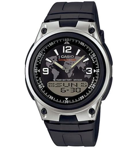 Часы Casio Collection AW-80-1A2 с записной книжкой
