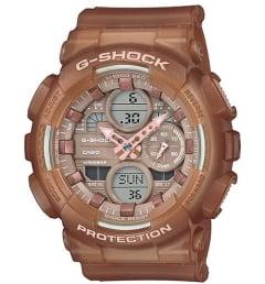 Часы Casio G-Shock  GMA-S140NC-5A2 с каучуковым браслетом