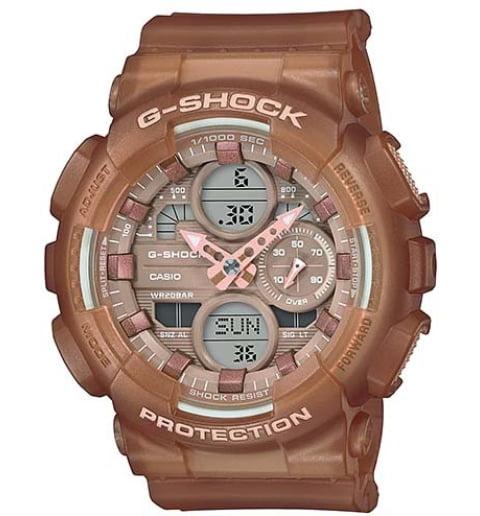 Часы Casio G-Shock  GMA-S140NC-5A2 с водонепроницаемостью 20 бар