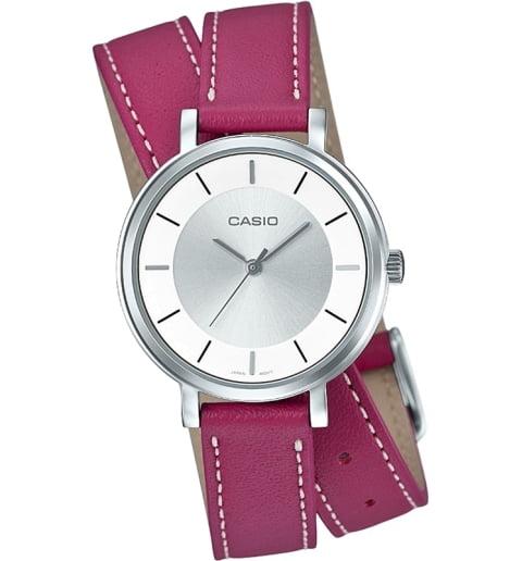 Дешевые часы Casio Collection LTP-E143DBL-4A1