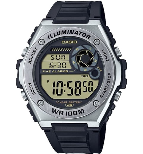 Casio Collection MWD-100H-9A с секундомером