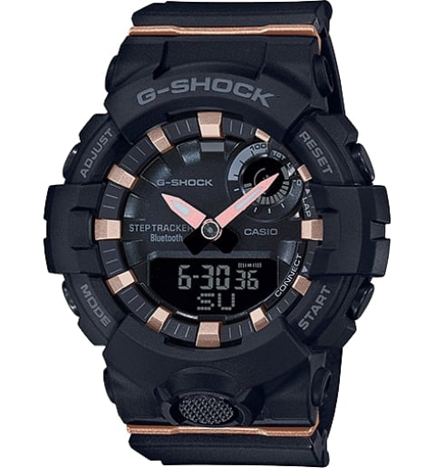 Часы Casio G-Shock GMA-B800-1A с Bluetooth