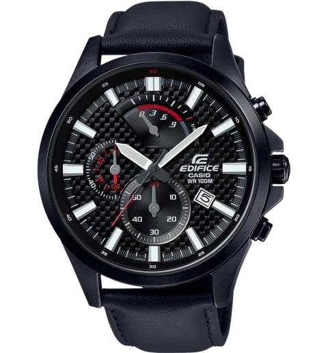 Карбоновые часы Casio EDIFICE EFV-530BL-1A