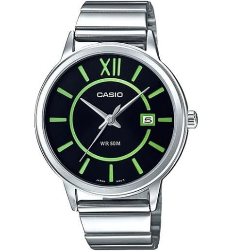 Дешевые часы Casio Collection MTP-E134D-1B