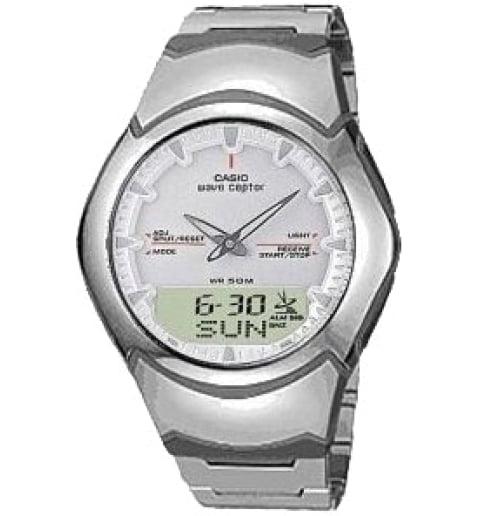 Дешевые часы Casio WAVE CEPTOR WVA-104HD-7A