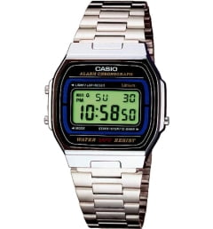 Casio Collection A-164WA-1 с секундомером