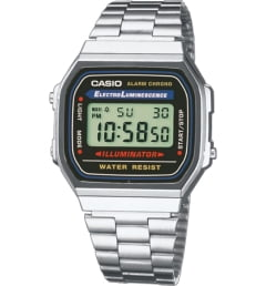 Casio Collection A-168WA-1 с секундомером