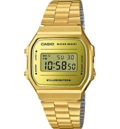 Бочкообразные Casio Collection A-168WEGM-9E