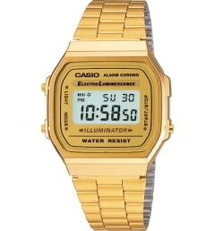 Casio Collection A-168WG-9 с секундомером