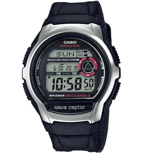 Дешевые часы Casio WAVE CEPTOR WV-M60B-1A
