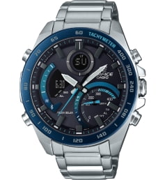 Casio EDIFICE ECB-900DB-1B с секундомером