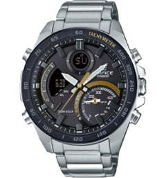 Casio EDIFICE ECB-900DB-1C с секундомером