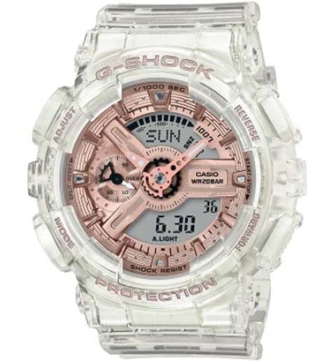 Часы Casio G-Shock  GMA-S110SR-7A с водонепроницаемостью 20 бар