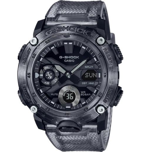 Часы Casio G-Shock GA-2000SKE-8A с водонепроницаемостью WR20Bar