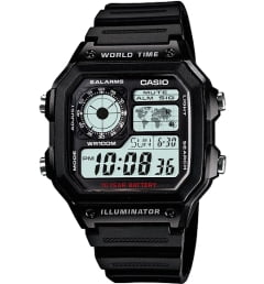 Casio Collection AE-1200WH-1A с секундомером