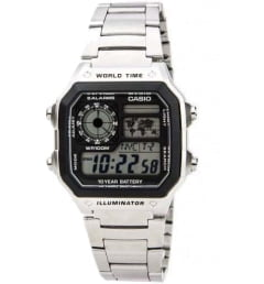 Casio Collection AE-1200WHD-1A с будильником