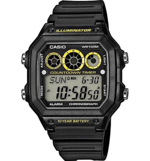 Дешевые часы Casio Collection AE-1300WH-1A