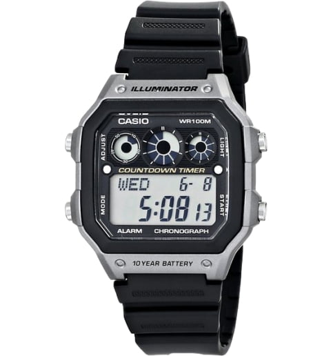 Дешевые часы Casio Collection AE-1300WH-8A