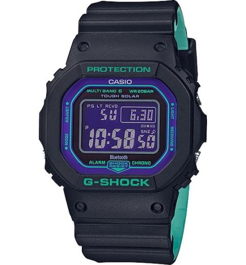 Часы Casio G-Shock GW-B5600BL-1E с Bluetooth