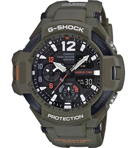 Часы Casio G-Shock GA-1100KH-3A с компасом