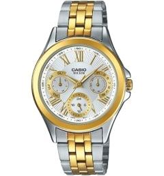 Часы Casio Collection LTP-E308SG-7A со стальным браслетом