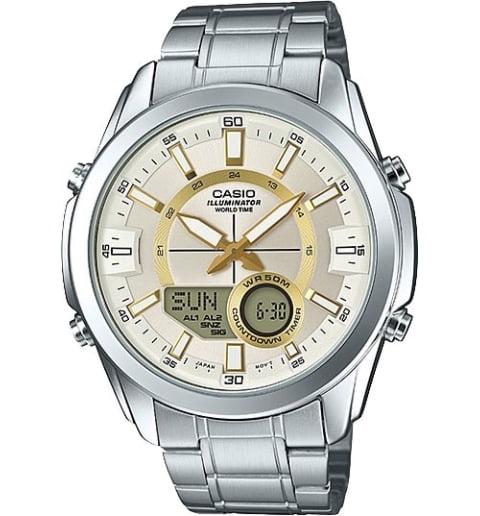 Часы Casio Outgear AMW-810D-9A с записной книжкой