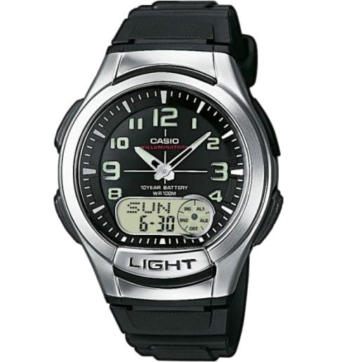 Часы Casio Collection AQ-180W-1B для бега
