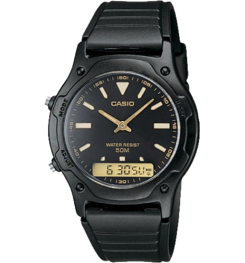 Дешевые часы Casio Collection AW-49HE-1A