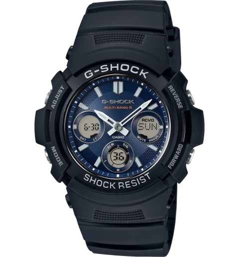 Детские Casio G-Shock AWG-M100SB-2A