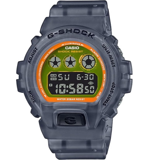 Часы Casio G-Shock DW-6900LS-1E с водонепроницаемостью 20 бар