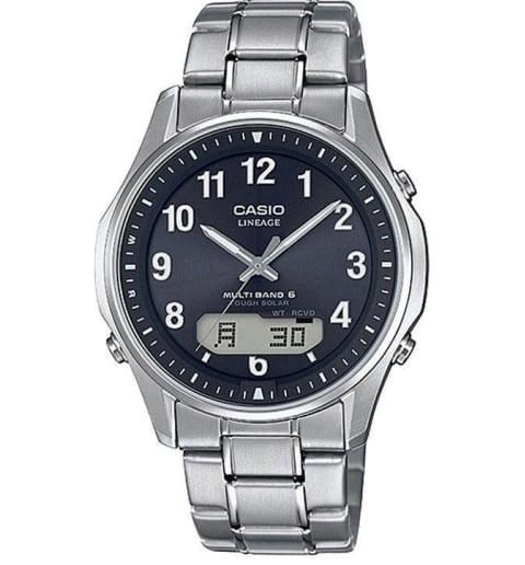 Часы Casio Lineage LCW-M100TSE-1A2 в титановом корпусе