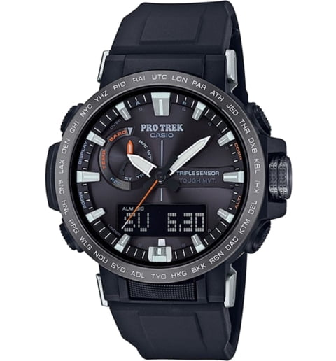 Часы Casio PRO TREK PRW-60Y-1A с термометром