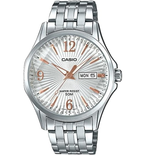 Дешевые часы Casio Collection MTP-E120DY-7A