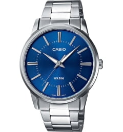 Casio Collection  MTP-1303D-2A с синим циферблатом