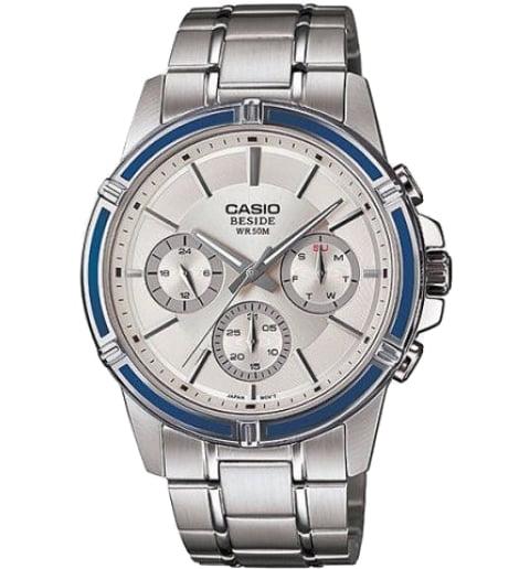 Стальные часы Casio BESIDE BEM-311D-7A