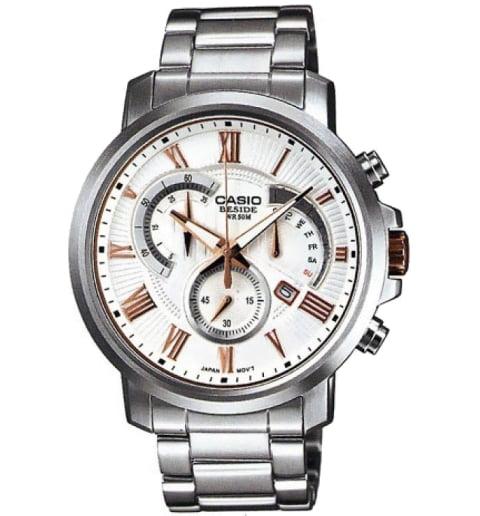 Стальные часы Casio BESIDE BEM-506BD-7A