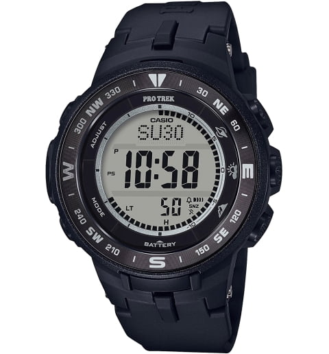 Часы Casio PRO TREK PRG-330-1E на солнечной атарее