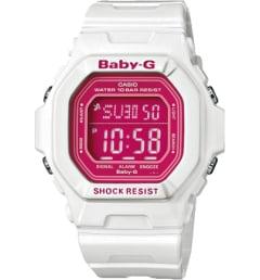 Белые Casio Baby-G BG-5601-7E с белым браслетом