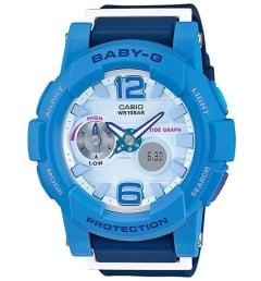 Женские Casio Baby-G BGA-180-2B3 с лунным календарем