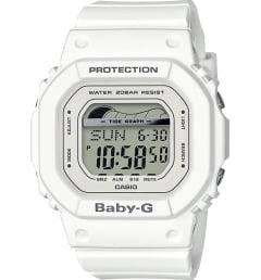 Белые Casio Baby-G BLX-560-7E с белым браслетом