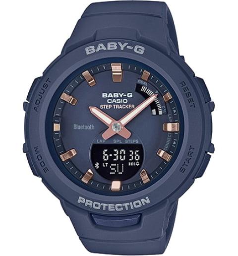 Casio Baby-G BSA-B100-2A с шагомером