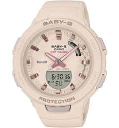 Casio Baby-G BSA-B100-4A1 с GPS
