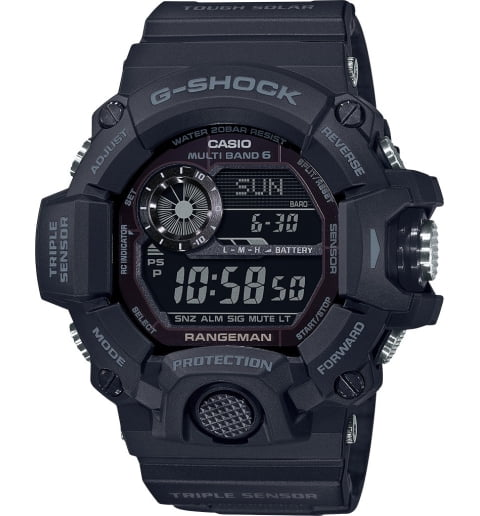 Часы Casio G-Shock GW-9400-1B с термометром