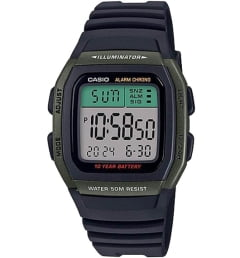 Бочкообразные Casio Collection W-96H-3A