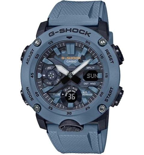 Часы Casio G-Shock  GA-2000SU-2A с водонепроницаемостью 20 бар